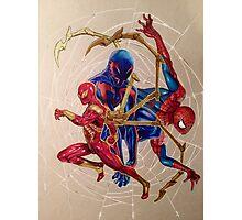 """""""Web of Spideys"""" Photographic Print"""