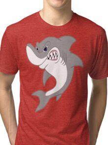 Great White Shark Tri-blend T-Shirt