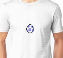 Blue Pixel Yoshi Egg Unisex T-Shirt
