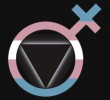 Trans Lesbian Glyph (Black) by Delia Gonzales