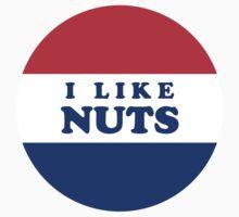 Deez Nuts 2016: I Like Nuts by tuliptreetees