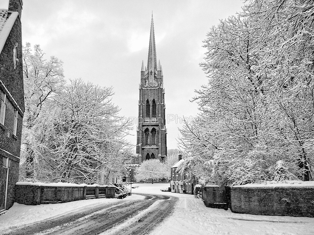 Spire of St. James by Paul Thompson Photography