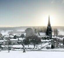 An Edensor Winter by Steven  Lee