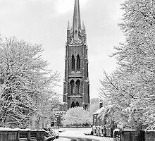 Louth Spire Portrait by Paul Thompson Photography
