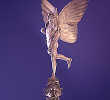 Anteros, Piccadily Circus, London by Dave Godden