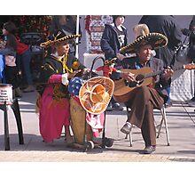 Dos Mariachis Photographic Print