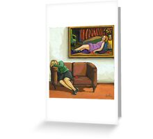 Contemporary figurative realism - The Rose Greeting Card