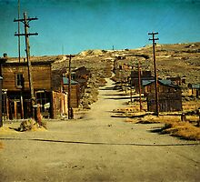 Old mining gold ghost town, great wild west of California america. Bodie national state park. by upthebanner