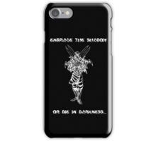 Zed (white) iPhone Case/Skin