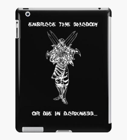 Zed (white) iPad Case/Skin