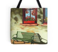 Empty Bench - oil painting Tote Bag