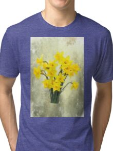 Daffodils in springtime Tri-blend T-Shirt