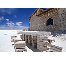 Salt Hotel, Uyuni Bolivia Photographic Print