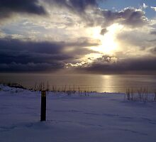 Morning snow clouds by Merice  Ewart-Marshall - LFA