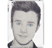 Chris Colfer - pencil  iPad Case/Skin