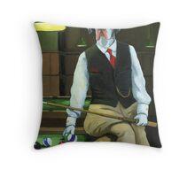 """Mr. Thomas Tudor"" - great dane portrait Throw Pillow"
