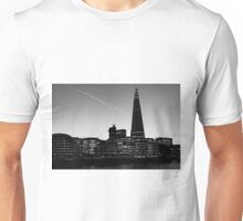 The Shard in B&W Unisex T-Shirt