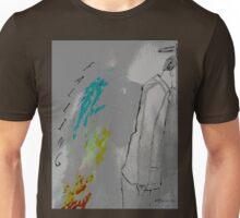Falling posterized Unisex T-Shirt