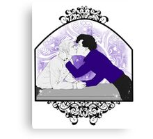 Johnlock - Pure Devotion Canvas Print