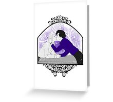 Johnlock - Pure Devotion Greeting Card