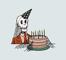 Skeleton Birthday by Guffrey