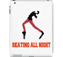 Skating All Night iPad Case/Skin