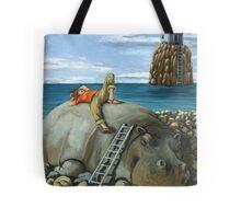 Lazy Days - surreal landscape Tote Bag