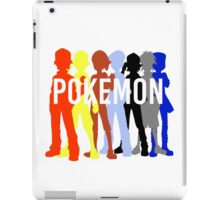 Pokemon Trainers iPad Case/Skin