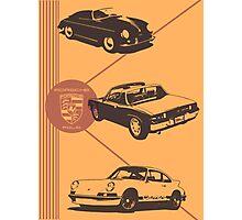 Porsche Folio Photographic Print