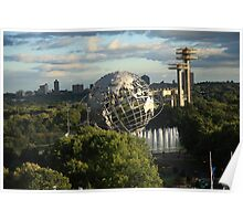 Queens, New York City - Unisphere Poster