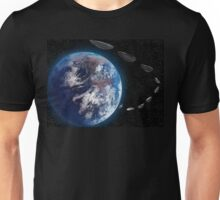 """""""One day, we left earth."""" Unisex T-Shirt"""