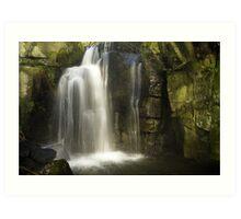 Lumsdale: Derbyshire` Art Print