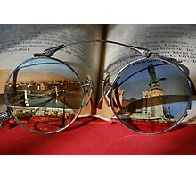 See The World Through Books Photographic Print