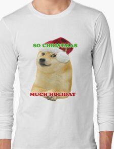 Doge Xmas Long Sleeve T-Shirt