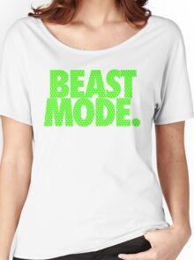 BEAST MODE. - Electric Green Women's Relaxed Fit T-Shirt