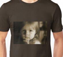 Little Girl Feeling Sad Unisex T-Shirt