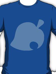Animal Crossing Furniture Leaf - Tom Nook Blue T-Shirt