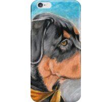 Sweet Rottweiler Puppy iPhone Case/Skin