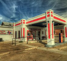 The Decatur Barber Station by Terence Russell