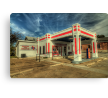 The Decatur Barber Station Canvas Print