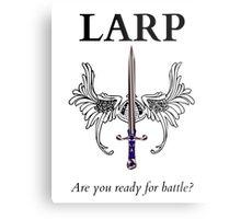 Do you LARP? Metal Print