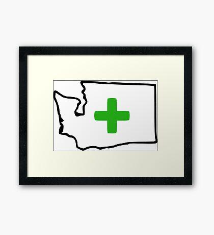 Washington Legal Framed Print