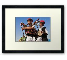 The Music of Rajasthan Framed Print