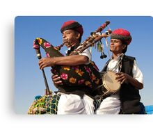 The Music of Rajasthan Canvas Print