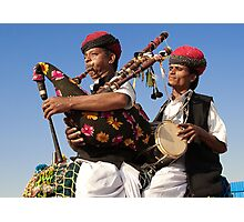 The Music of Rajasthan Photographic Print