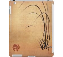 Lyrical Dreams - original sumie ink brush pen Zen drawing by Rebecca Rees iPad Case/Skin