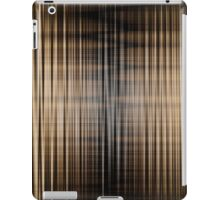 Brown and Black Color Waves iPad Case/Skin