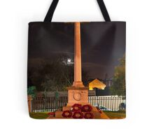 The Cross at Night: The Old Rugged Cross Tote Bag