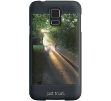 just trust. (key line) Samsung Galaxy Case/Skin