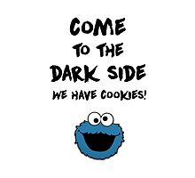 Come To The Dark Side & Cookiemonster v1 by hagithequeen